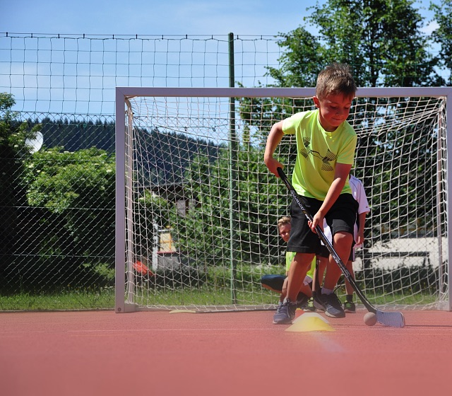 Kitz Hockey Youngsters voll im Training