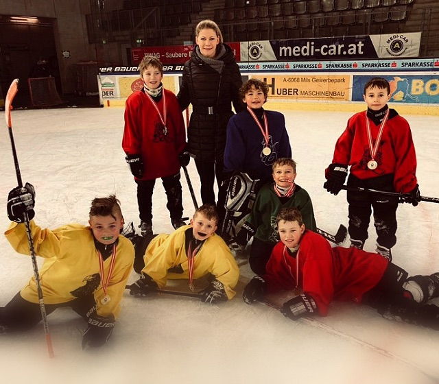 Kitz Hockey Youngsters geben Vollgas!