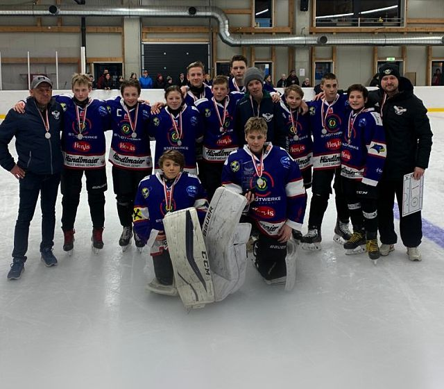 Kitz Hockey Youngsters sind Vize-Meister